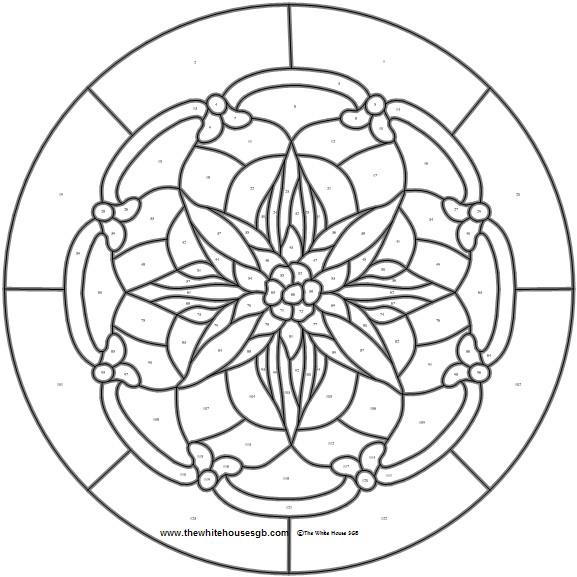 Teacher's Flower Pattern - Kids Crafts | Scout Crafts, Free